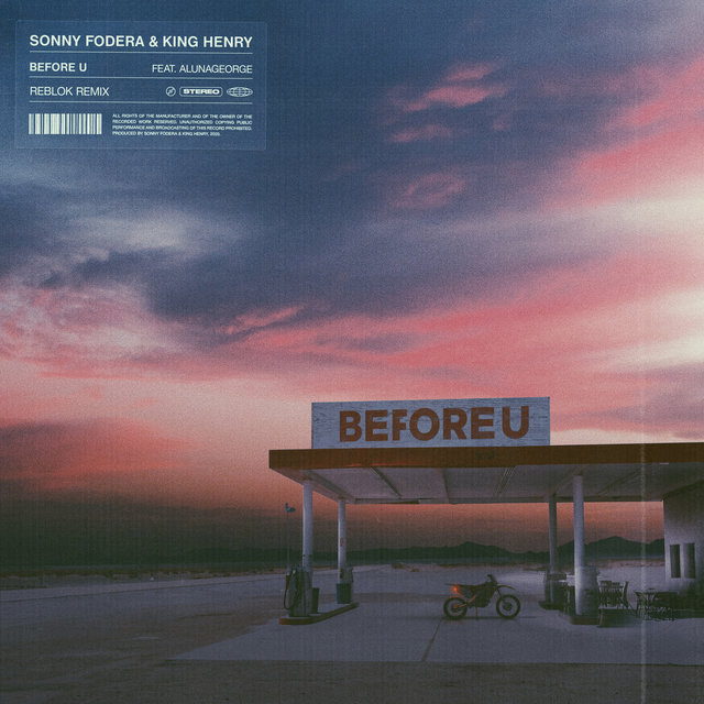 Before U (feat. AlunaGeorge) [Reblok Remix]
