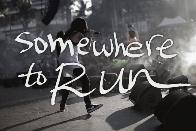 Somewhere to Run (Live Lyric Video)