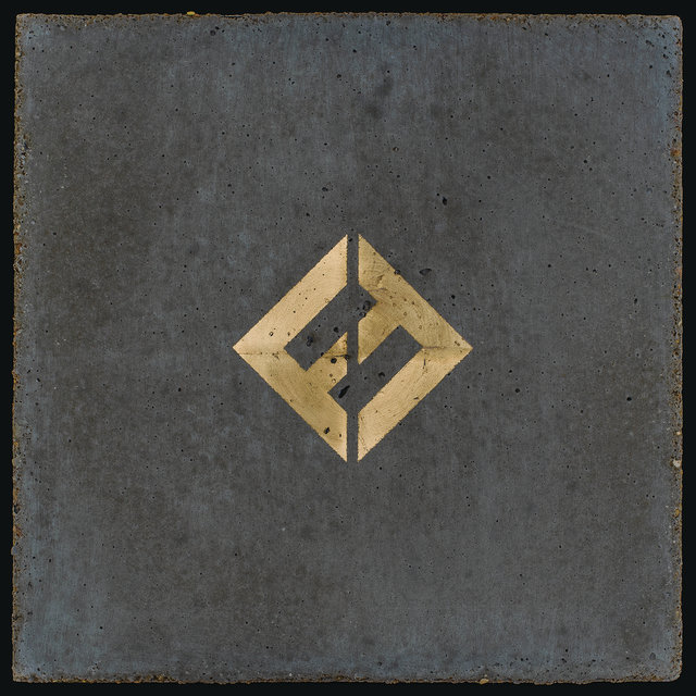Cover art for album Concrete and Gold by Foo Fighters