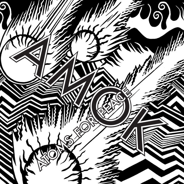 Cover art for album AMOK by Atoms For Peace