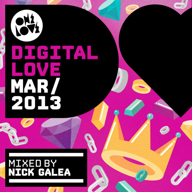 Onelove Digital Love March 2013 (Mixed by Nick Galea)