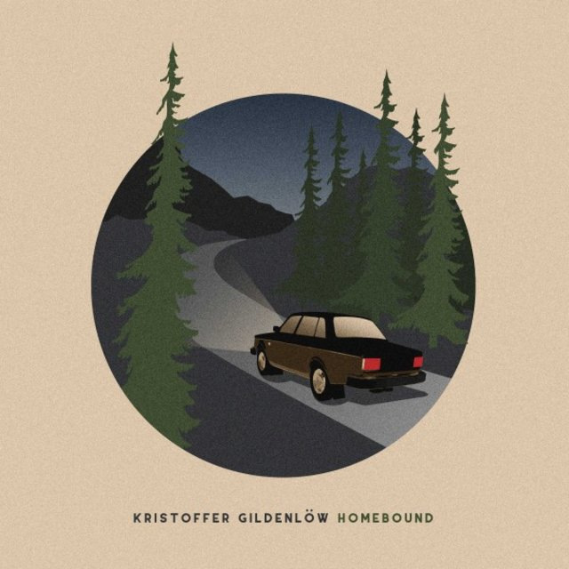 Cover art for album Homebound by Kristoffer Gildenlöw