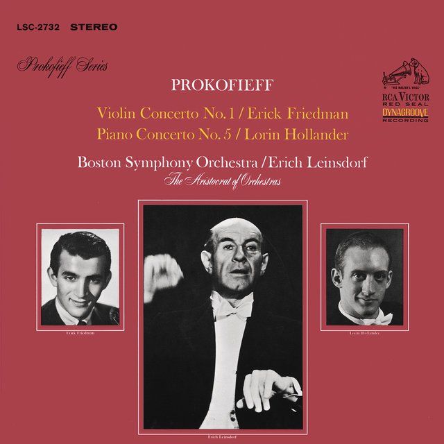 Prokofiev: Violin Concerto No. 1 in D Major, Op. 19 & Piano Concerto No. 5 in G Major, Op. 55