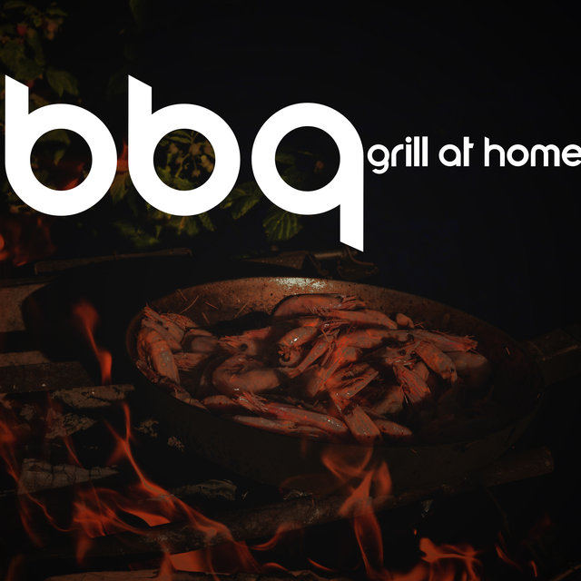 BBQ Grill at Home: Jazz Music For A Party In The Backyard Garden