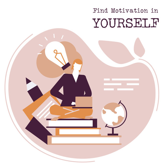 Find Motivation in Yourself - Gentle New Age Music for Study, Intellectual Stimulation, Focus Control, Do Homework, Books and Papers