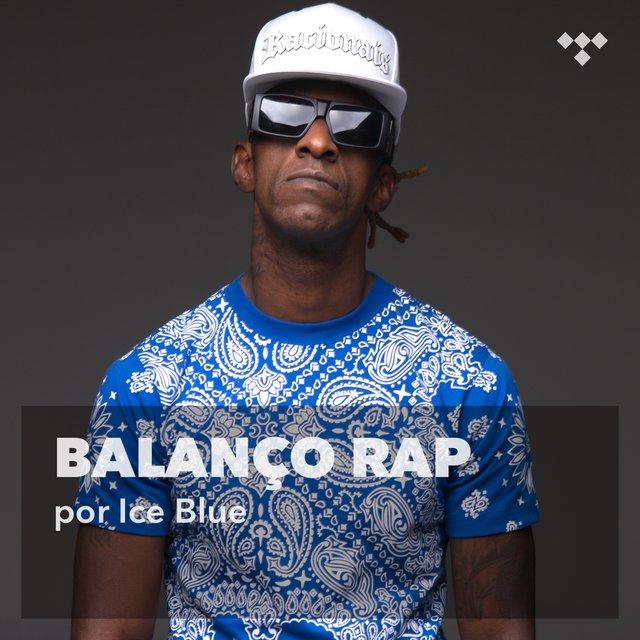 Cover art for album Ice Blue: Balanço Rap by Racionais MC's