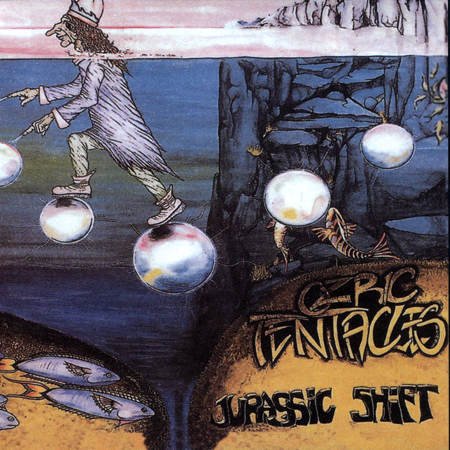 Cover art for album Jurassic Shift by Ozric Tentacles