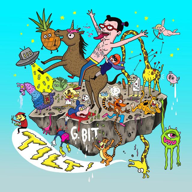Cover art for album TILT! by G.bit