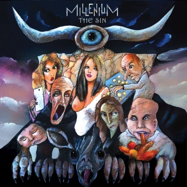 Cover art for album The Sin by Millenium