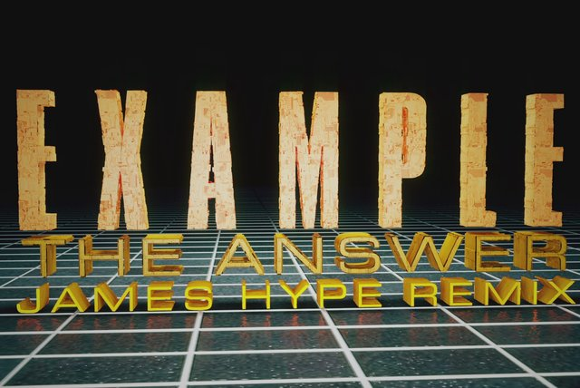 The Answer (James Hype Remix Animated Version)
