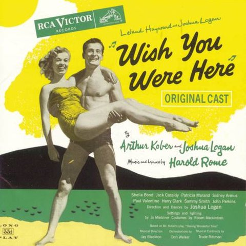 Original Broadway Cast of Wish You Were Here