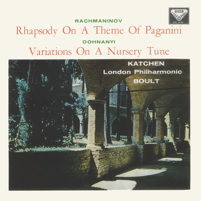 Rachmaninov: Piano Concerto No. 2; Rhapsody on a Theme of Paganini / Dohnányi: Variations on a Nursery Song