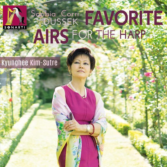 Sophia Dussek: Favorite Airs for the Harp