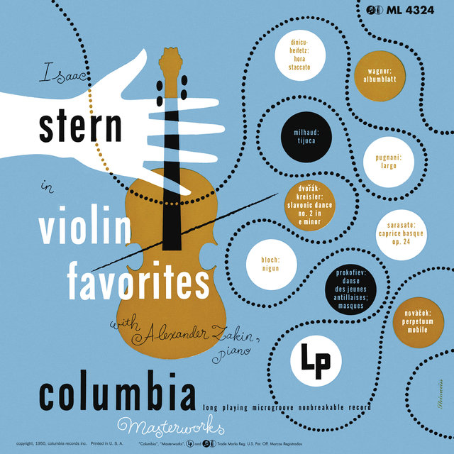 Isaac Stern in Violin Favorites