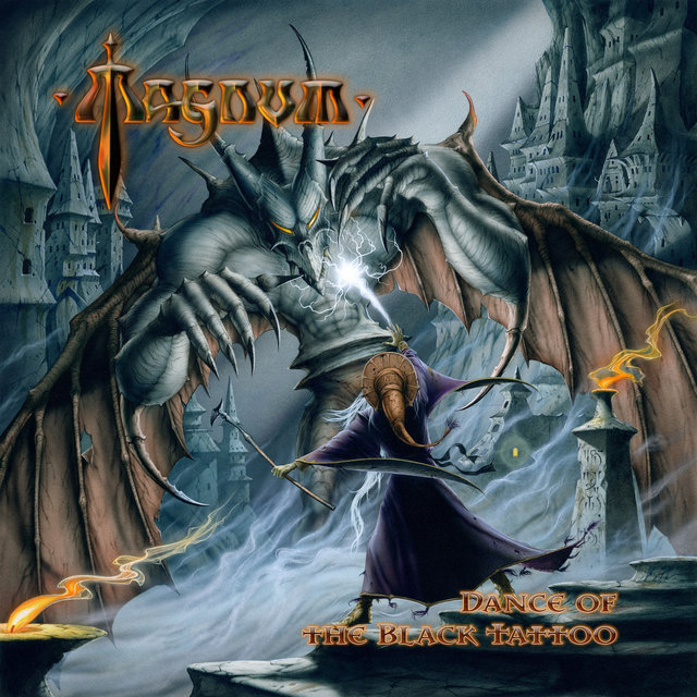 Cover art for album Dance of the Black Tattoo by Magnum