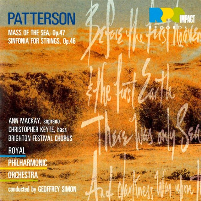 Patterson: Mass Of The Sea / Sinfonia For Strings