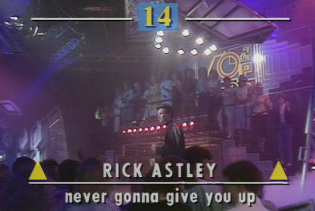 Never Gonna Give You Up (Top of the Pops 1987)
