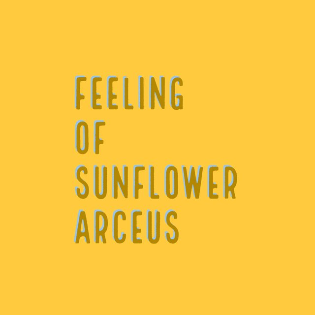 Feeling of Sunflower