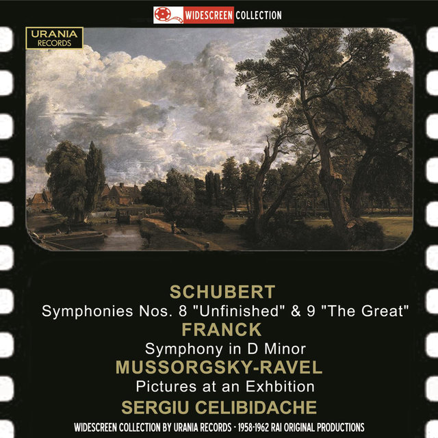 Schubert: Symphonies Nos. 8 & 9 - Mussorgsky: Pictures at an Exhibition - Franck: Symphony in D Minor (Live)