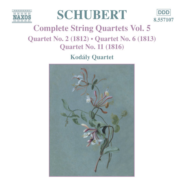 Schubert: String Quartets (Complete), Vol. 5