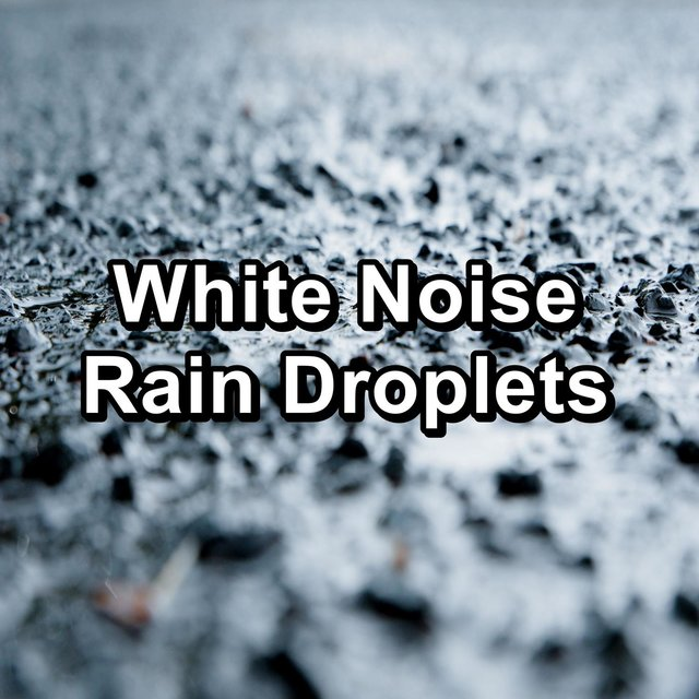 White Noise Rain Droplets