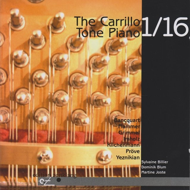 The Carillo 1/16 Tone Piano