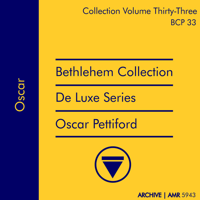 Deluxe Series Volume 33 (Bethlehem Collection): Oscar