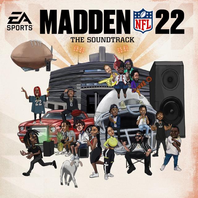 Cover art for album Madden NFL 22 Soundtrack by EA Sports Madden NFL, Swae Lee, JID
