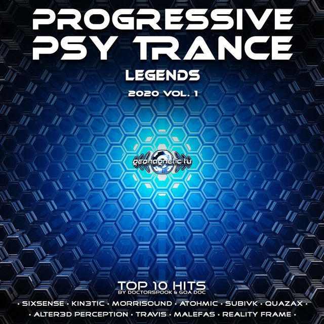 Progressive Psy Trance Legends: 2020 Top 10 Hits, Vol. 1