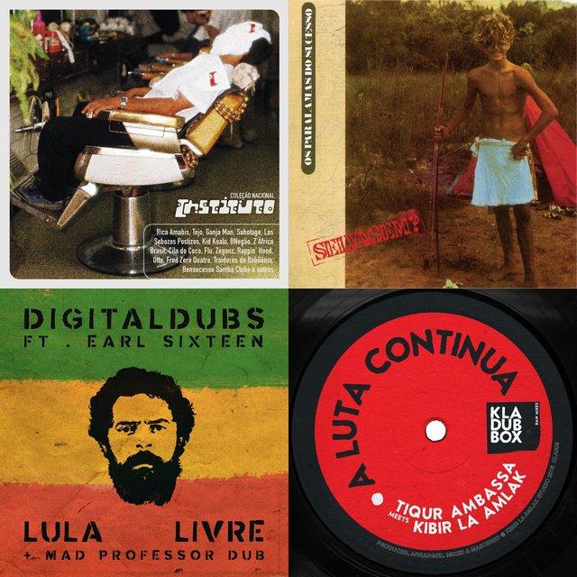Cover art for album Dub Brasil by User