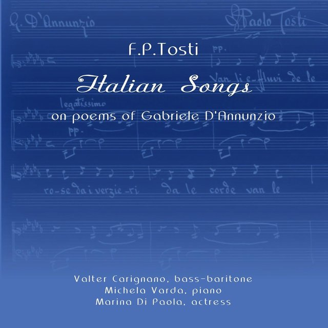 Italian Songs On Poems Of Gabriele D'Annunzio