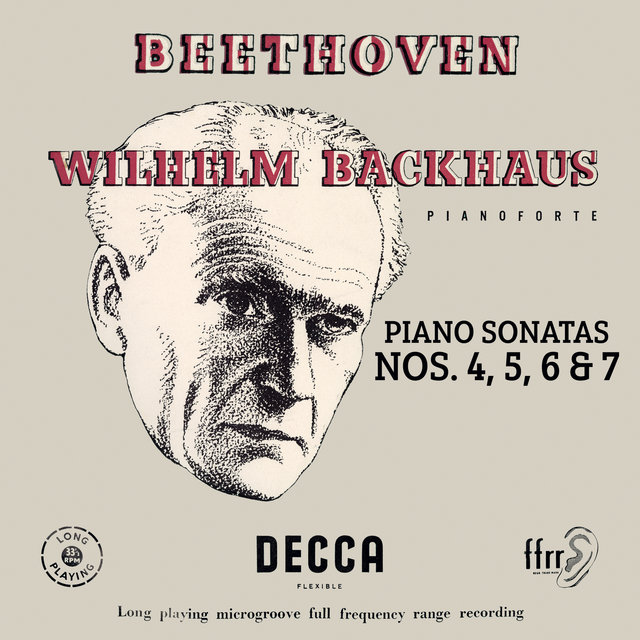 Beethoven: Piano Sonatas Nos. 4, 5, 6 & 7 (Mono Version)