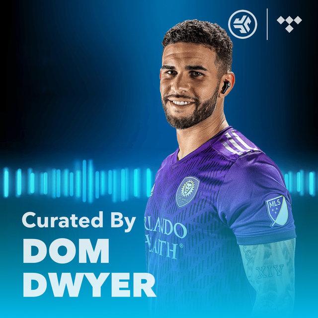 Cover art for album MLS Dom Dwyer Player Playlist by JLab Audio