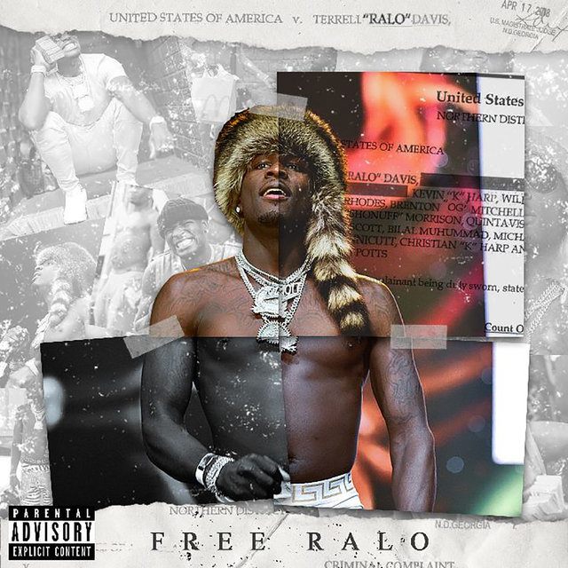 Cover art for album Free Ralo by Ralo