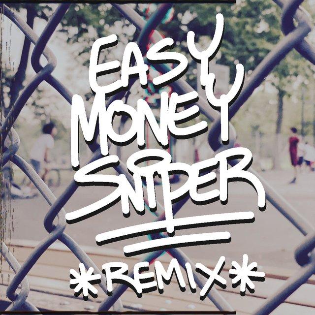 Cover art for album Easy Money Sniper Remix (feat. Adam Dollar$, LISTENtoSIN, The Ichiban Don & DviousMindz) by Rob Markman