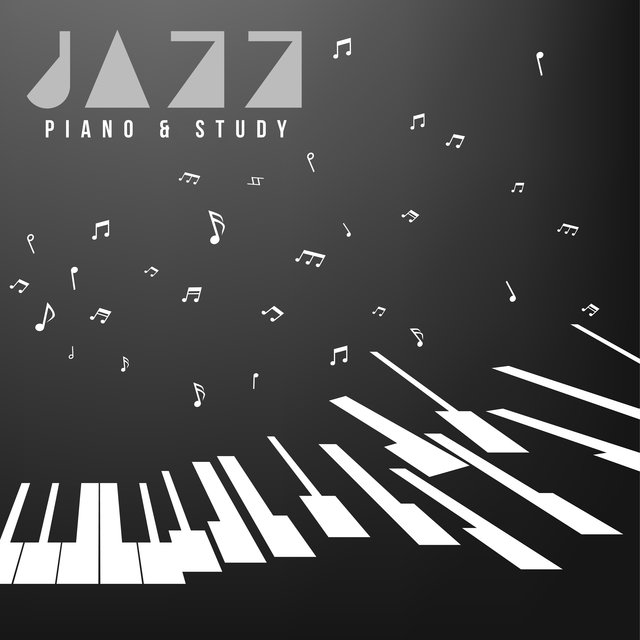 Jazz Piano & Study – BGM for Learning, Evening Soft Piano