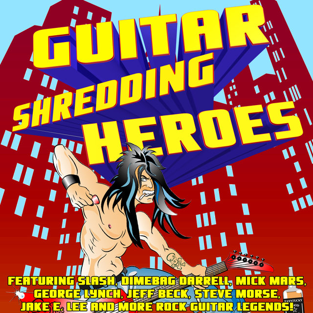 Guitar Shredding Heroes Featuring Slash, Dimebag Darrell, Mick Mars, George Lynch, Jeff Beck, Steve Morse, Jake E. Lee and More Rock Guitar Legends!
