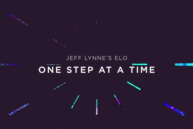 One Step at a Time (Jeff Lynne's ELO - Lyric Video)