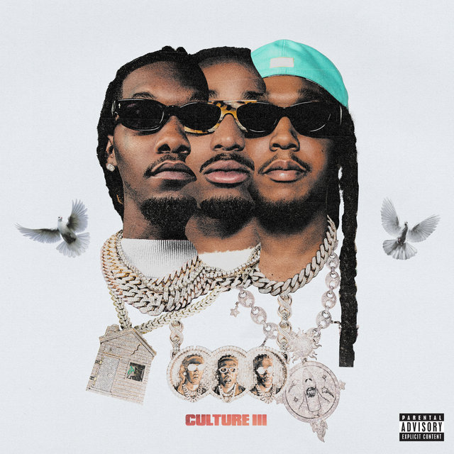 Cover art for album Culture III by Migos