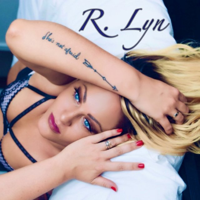 Cover art for album She's Not Afraid by R. Lyn