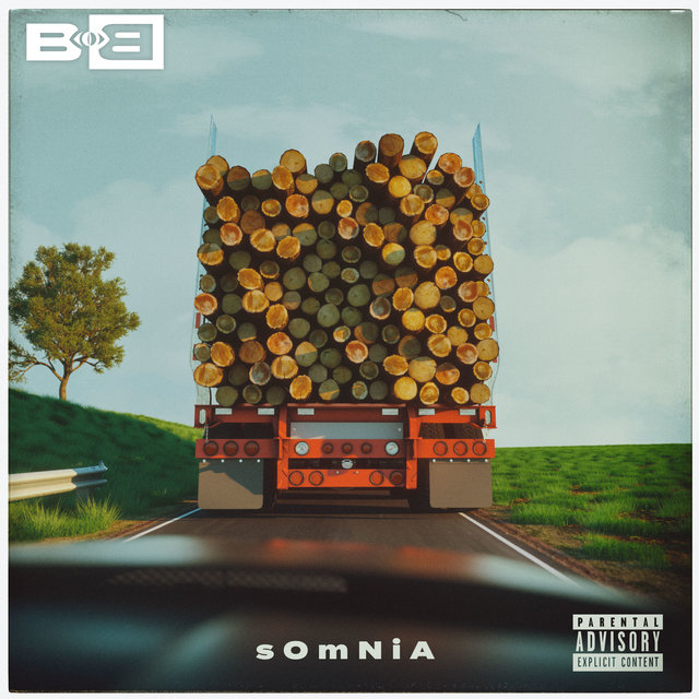 Cover art for album Somnia by B.o.B