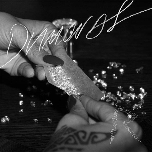 Cover art for album Diamonds by Rihanna