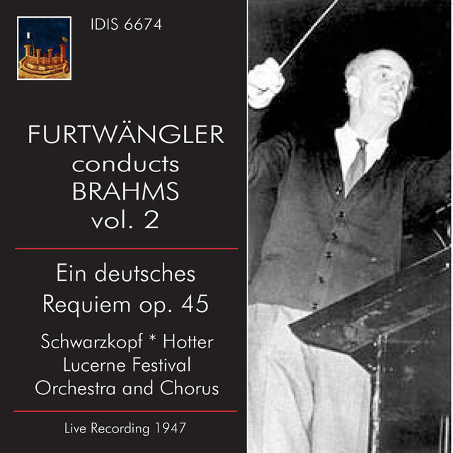 Furtwängler Conducts Brahms, Vol. 2 (Live)
