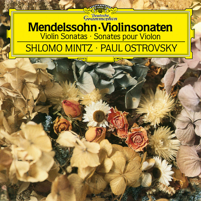 Mendelssohn: Violin Sonata in F Major, MWV Q12 - Sonata in F Major for Violin and Piano, MWV Q26