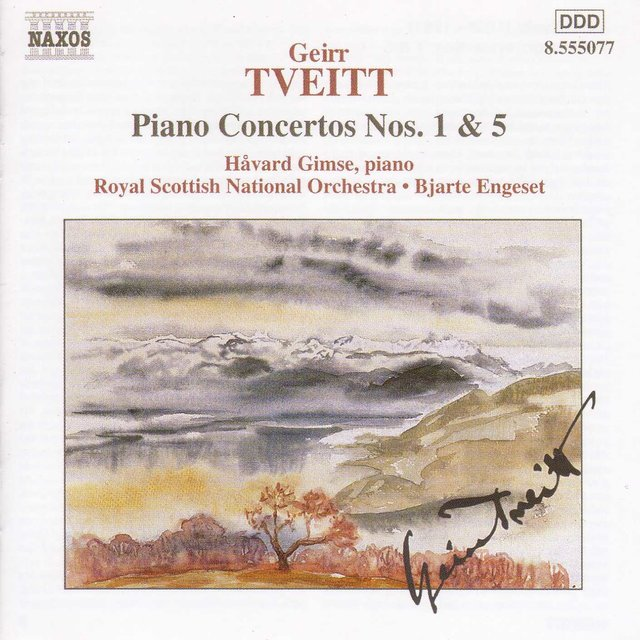 Tveitt: Piano Concertos Nos. 1 and 5
