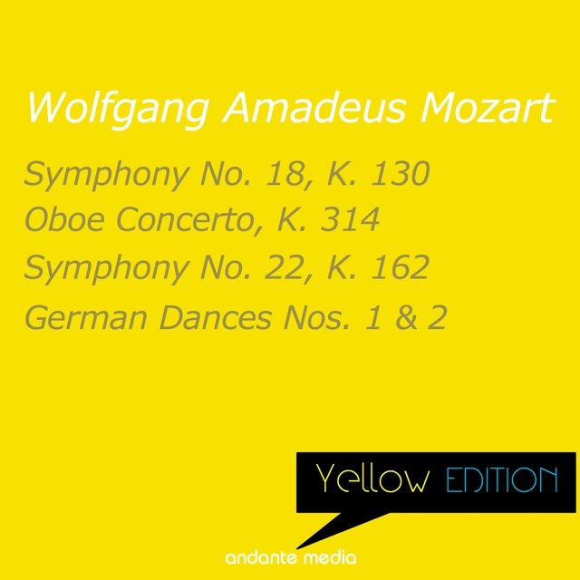 Yellow Edition - Mozart: German Dances Nos. 1 & 2