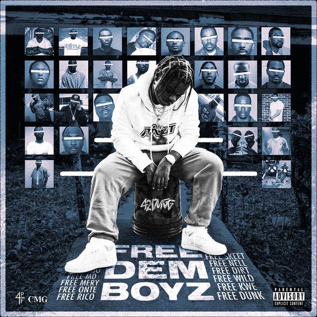 Cover art for album Free Dem Boyz by 42 Dugg