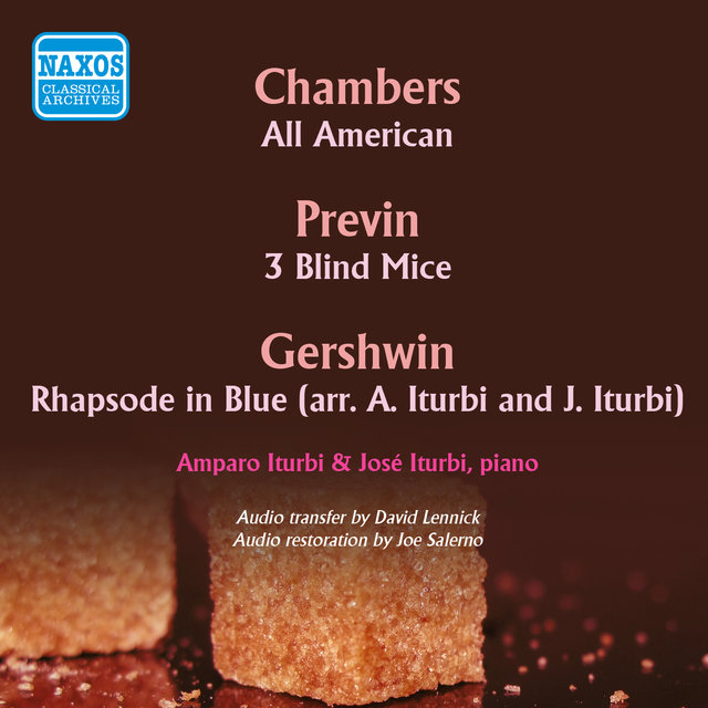 Chambers: All American - Gershwin: Rhapsody in Blue (1947, 1950)