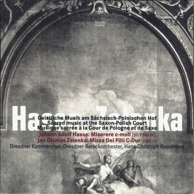 Hasse & Zelenka: Sacred Music at the Saxon-Polish Court