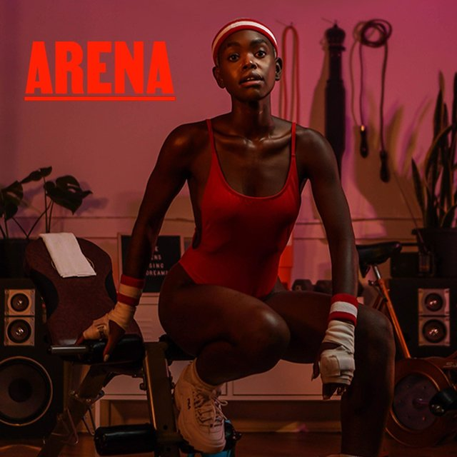 Cover art for album Arena by Crystal Rose